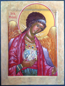 Icon by Cynthia of Michael the Archangel